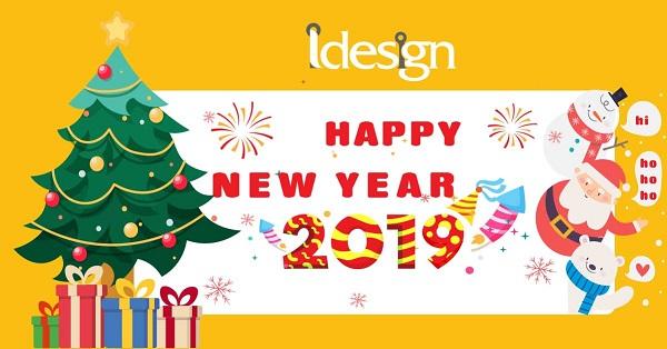iDesign -Chúc mừng năm mới 2019