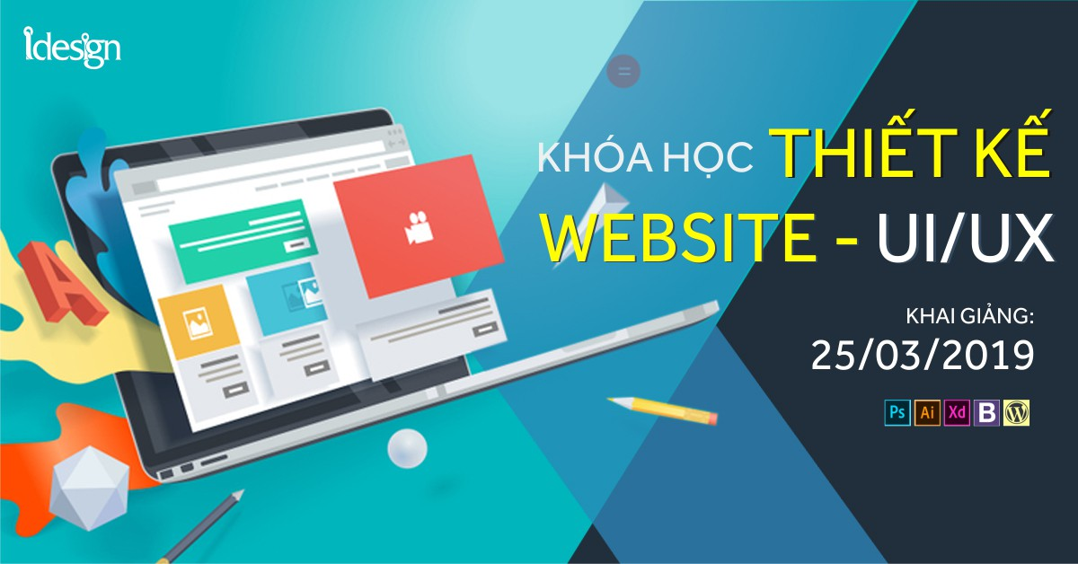 Khai giảng thiết kế web